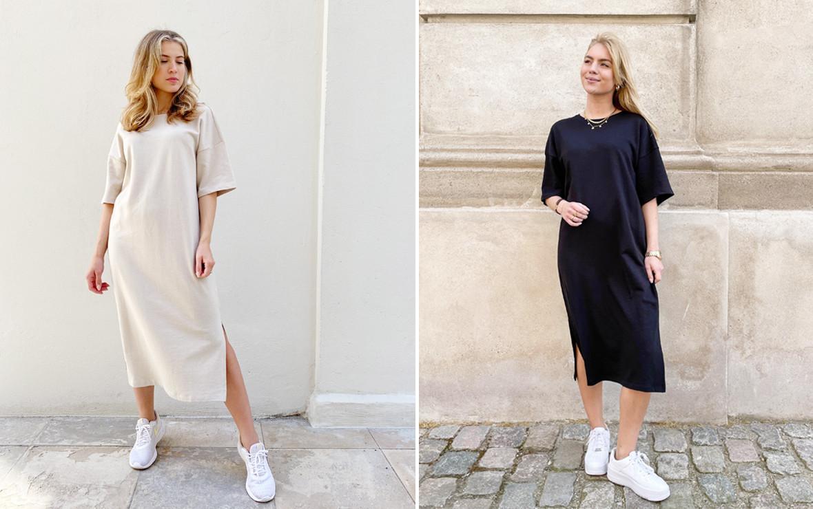 Sweat kjoler - Trendy sweatshirt kjoler til hverdag