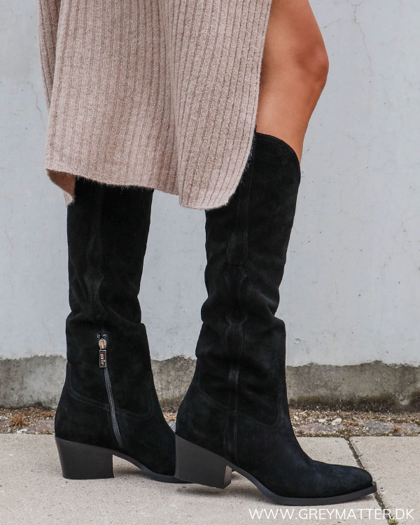 Sorte boots fra Apair hos Grey Matter
