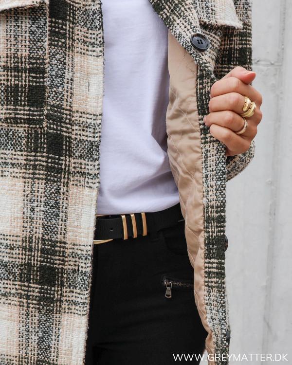 Pike jakke fra Neo Noir set tæt på