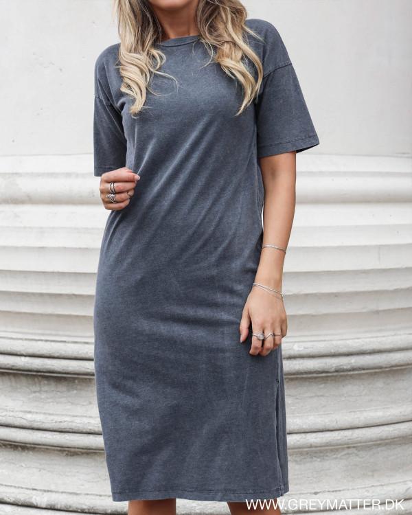 Vila Visilli Grey Washed Dress
