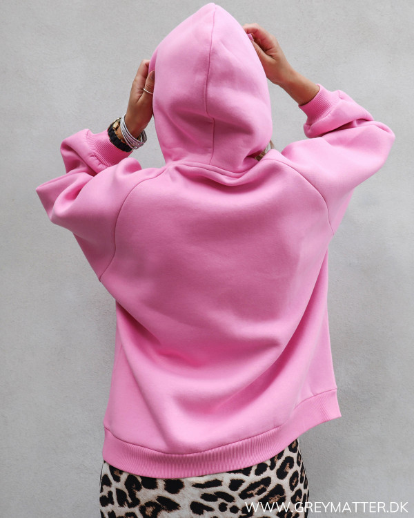 Neo Noir lyserød sweatshirt