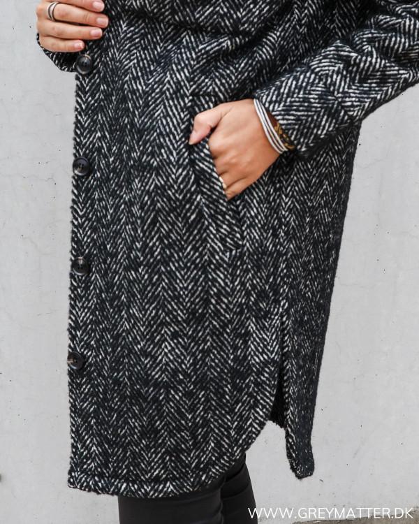 Lækker frakke fra Neo Noir fishbone