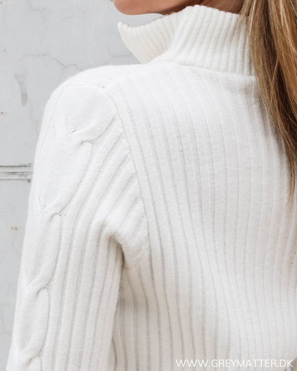 Vila hvid strik bluse