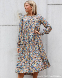 Pcamonda Black Blue Yellow Dress
