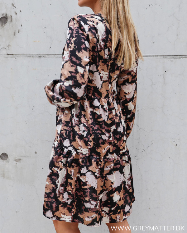 Vila Vimulla Flash Simply Taupe V-Neck Dress