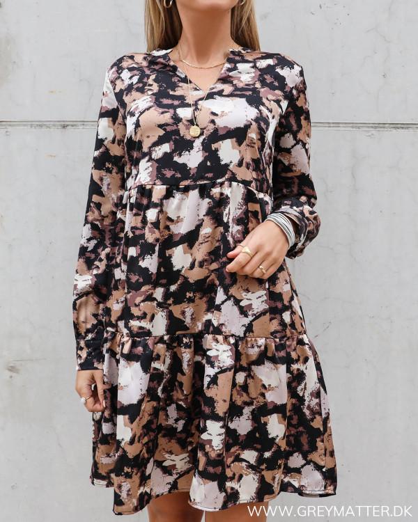 Tunika kjole fra Vila med flot print