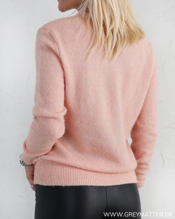 Neo Noir Dina Peach Melange Knit