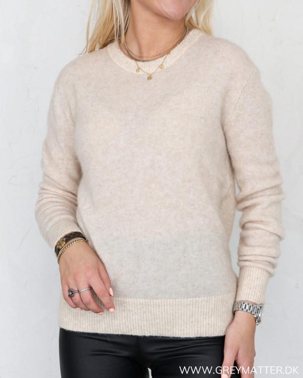 Neo Noir Dina Sand Melange Knit