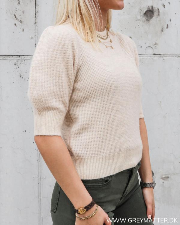 Abi stitch blouse Neo Noir