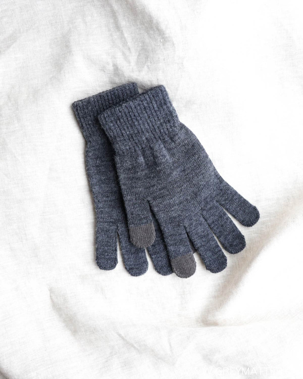 Pcnew Buddy Smart Dark Grey Gloves