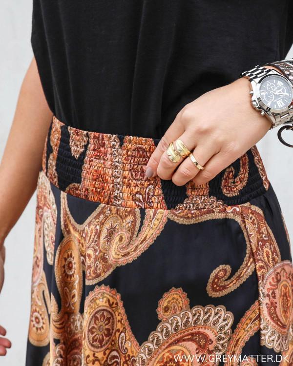 Elastik Karmamia skirt med paisley print