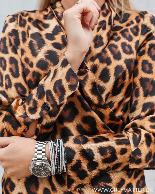 Leopard print festbluse Karmamia