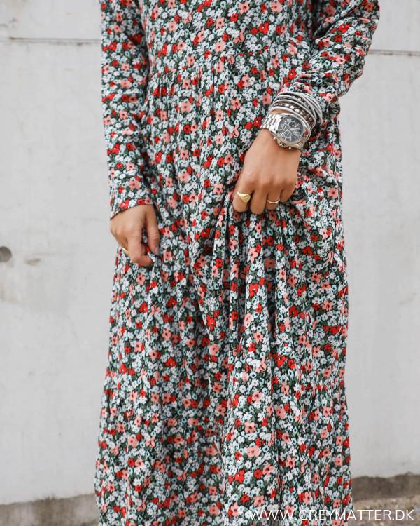 Smuk Pieces kjole med print