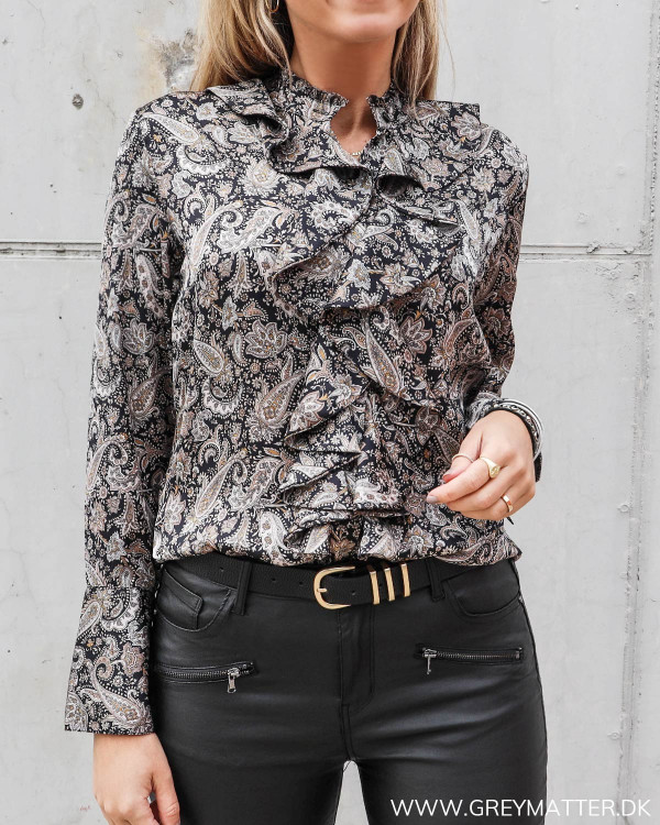 Karmamia skjorte paisley print