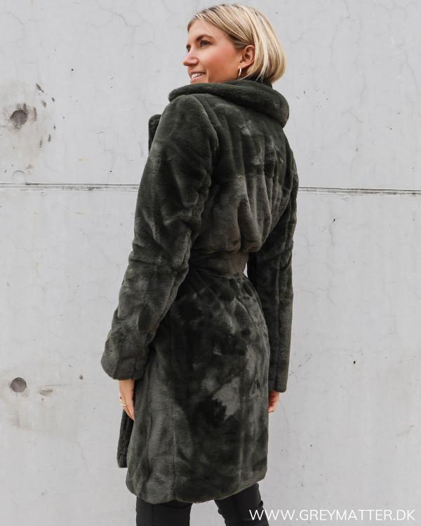 Faux fur frakke til damer fra Vila