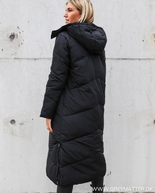 Vinter frakke fra Neo Noir i sort
