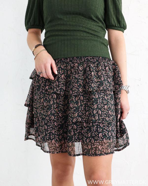 YAS Yasmira Black Skirt