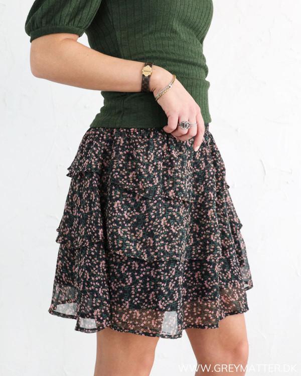 Nederdel med flæser fra YAS
