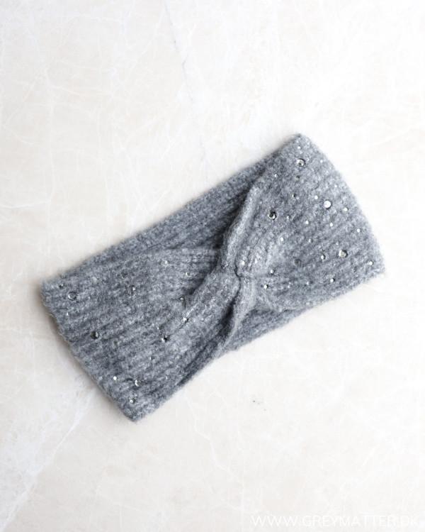 Pcseanna Headband Stones Grey Melange