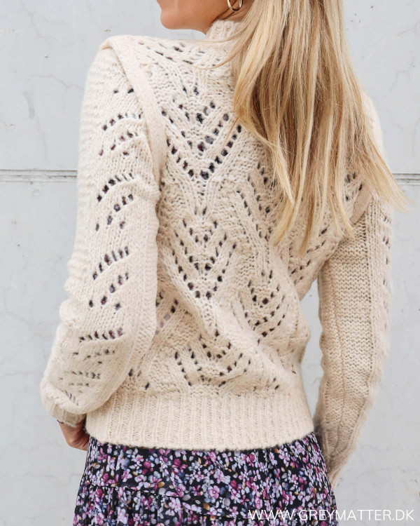 Yas Yassassy Whisper Pink Knit Pullover