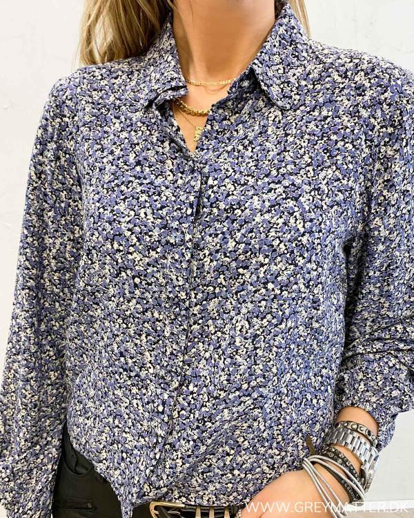 Pieces Pcdora Sky Captain Shirt