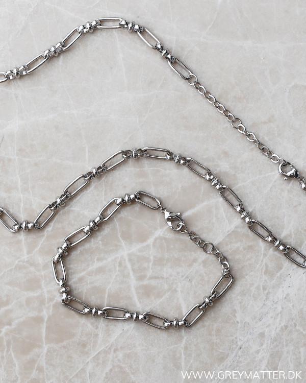 Silver bracelet fra Pure By Nat