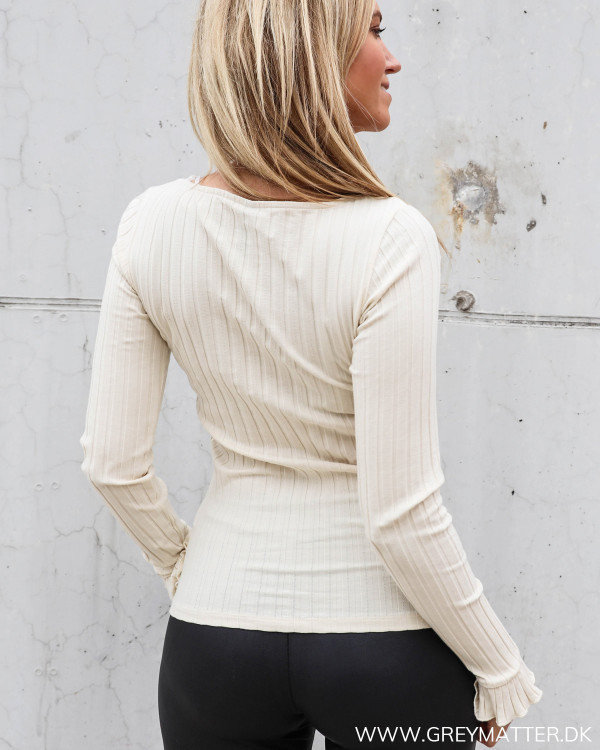 Grey Matter Fashion rib bluse