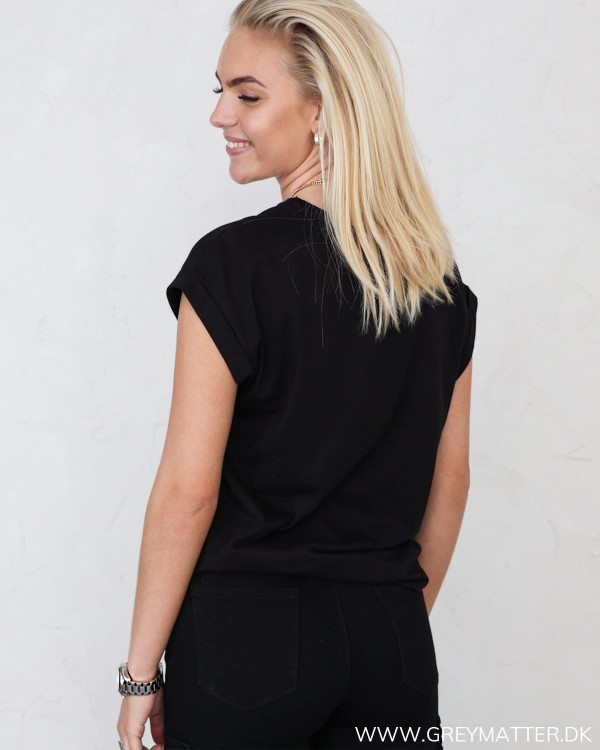 Vila Vieagle Endless Love Black T-Shirt