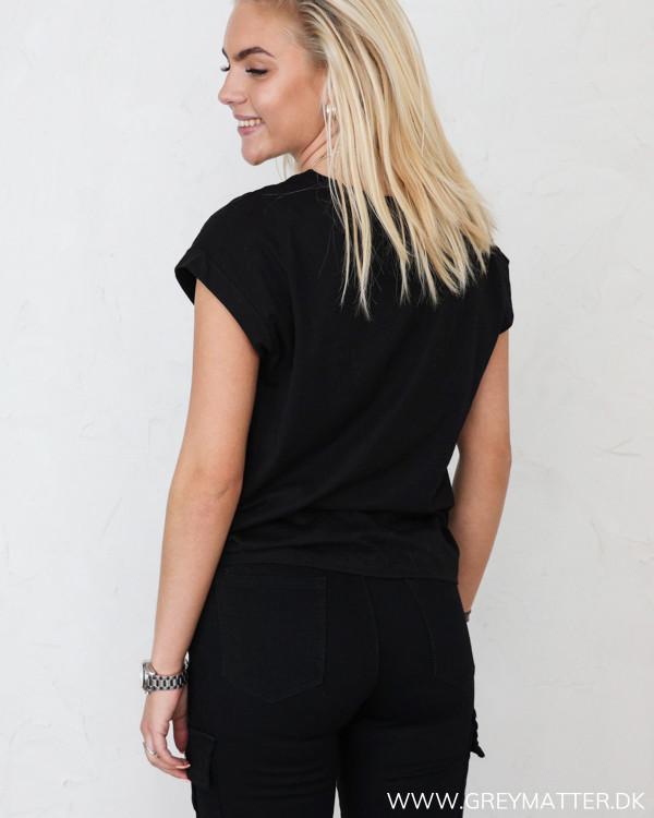 Vila Vieagle Rebel Tour Black T-Shirt