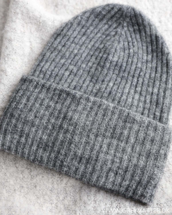 Pieces Pcbana Medium Grey Melange Wool Hood