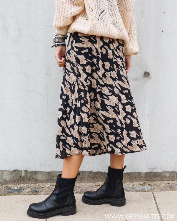 Neo Noir populære nederdel med print