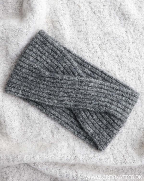 Pieces Pcbana Medium Grey Melange Wool Headband