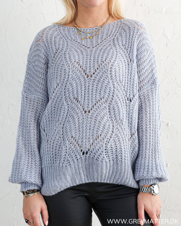 The Loose Blue Knit