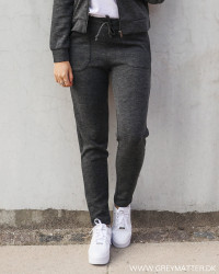 Vimany Dark Grey Melange Pants