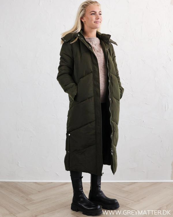 Neo Noir Taran Army Puffer Jacket