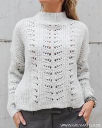 The Light Grey Knit