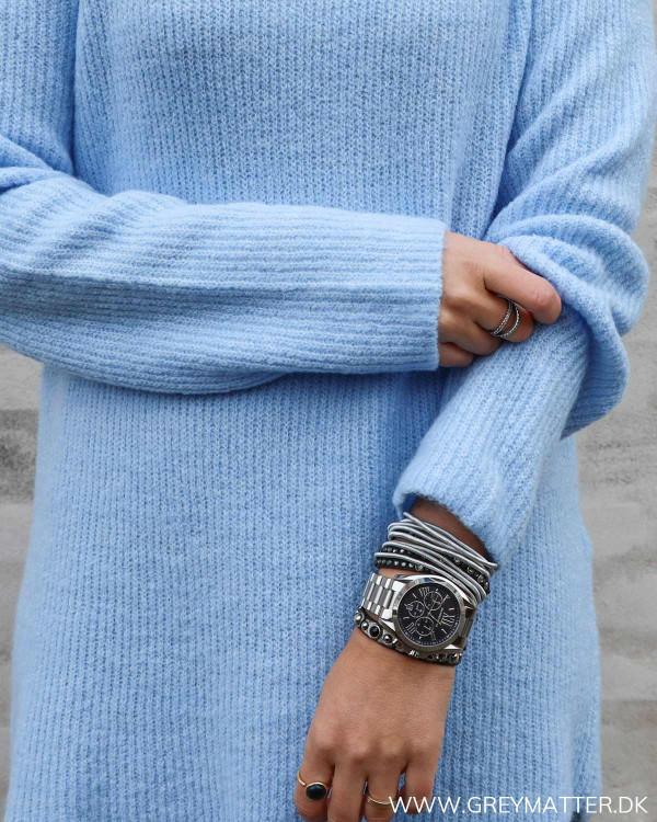 Pieces Pcellen Blue Long Knit