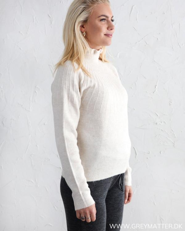 Vila Viprimsi Birch Melange Highneck Knit