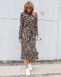 Vogue Big Leopard Dress