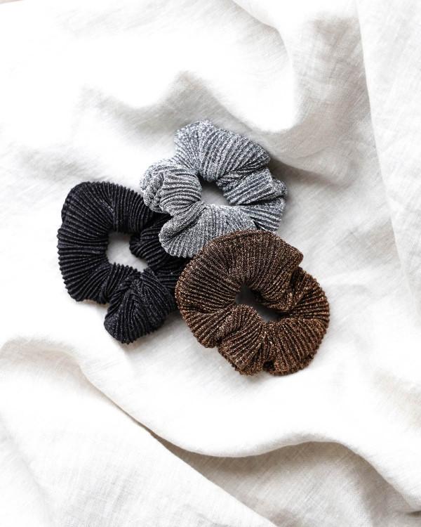 Pieces Hårelastik Pcamanda Black Scrunchie