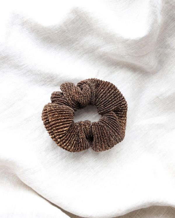 Pieces Hårelastik Pcamanda Copper Scrunchie