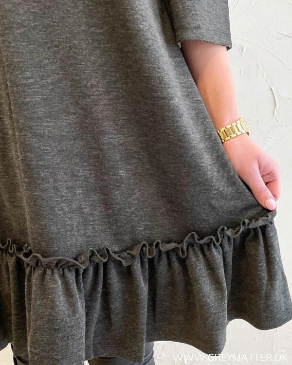 Vitinny Dark Grey Sleeve Dress