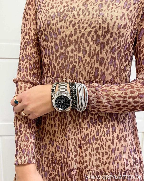 Vila Vidavis leopard kjole