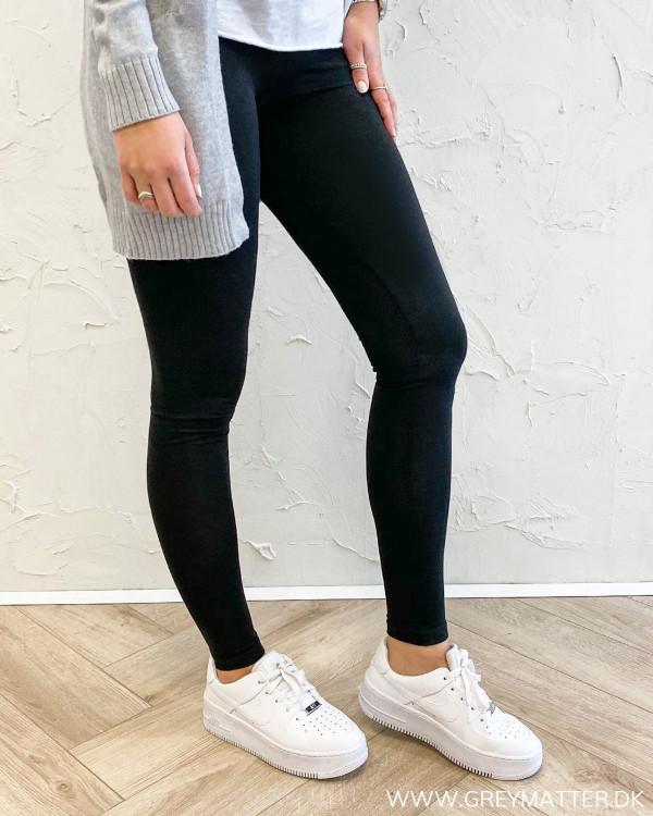 Pcedita Black Long Leggings
