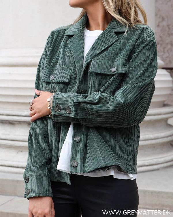 Green Sam Velvet Jacket