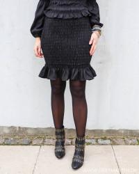 Pcpatricia Black Smock Skirt