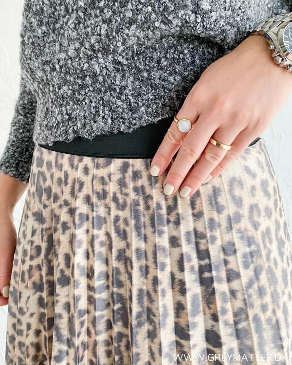 Plisse nederdel fra Vila