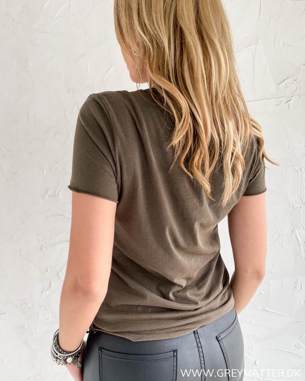 Simpel t-shirt fra Only