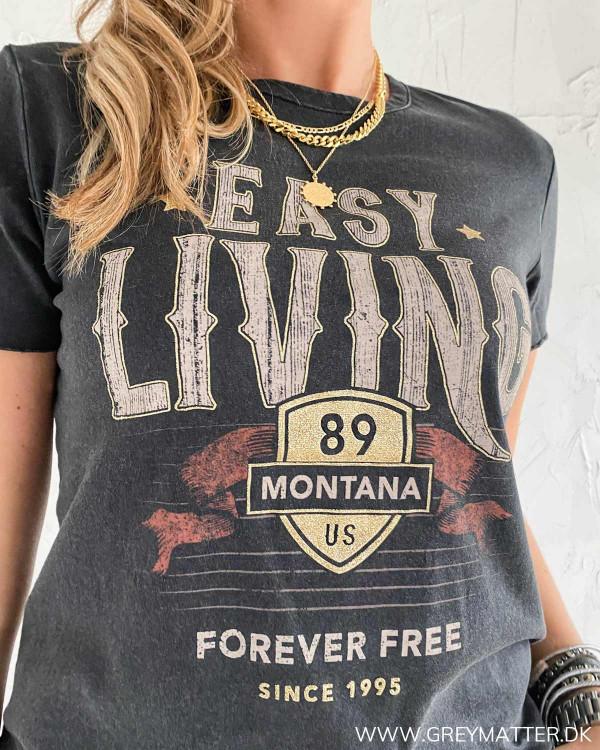 T-shirt fra Only til damer