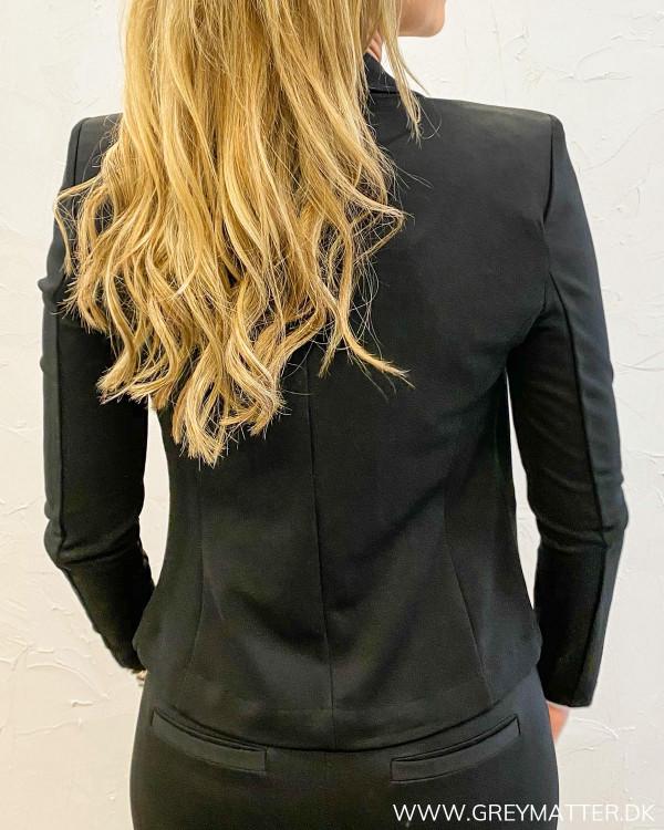Sort suit jakke fra Only